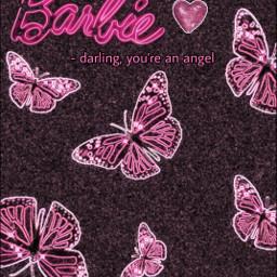 pink pinkaesthetic pinkbutterflies neon neonpink hotpink black noise dark cute butterfly butterflies angel quote barbie barbiepink aesthetic hearts sequins sparkles glitter princess love emoji heartemoji 💖💖💖 freetoedit
