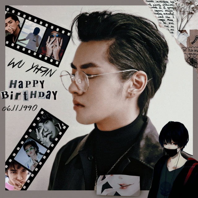 ♡~Happy Birthday Kris Wu 💙🎂🎂💙 • • • • #HappyBirthdayKrisWu #HappyKrisWuDay #WuYifan #KrisWuDay #WuYifanDay #wuyifan💕  #LiJiaheong #lijiaheng #wuyifan吴亦凡 #LiJiaheong