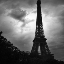 photography memories mood monochrome eiffeltower cloudsandsky picsartfilters picsartforfun freetoedit