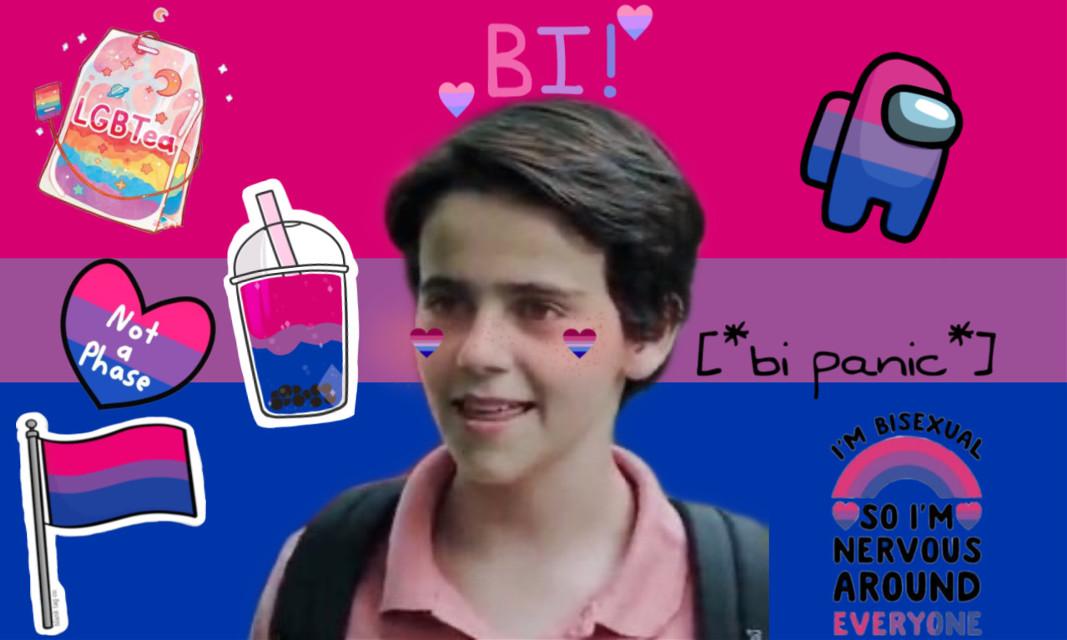#eddie #kaspbrak #bi #love I think Eddie is bisexual. Sorry not sorry!