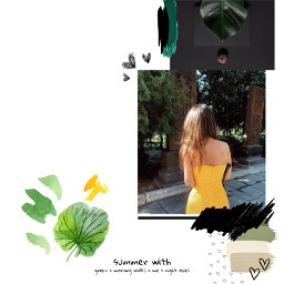simple simplyyellow aesthetic green yellow nature remix remixme edit freetoedit remixboard leaf summer memory oldphoto white whiteaesthetic art board remixedwithpicsart remixit remixedit effect picsarteffects love