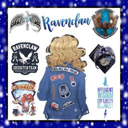 ravenclaw serdaigle hogwarts poudlard lovegood quidditch rowenaravenclaw freetoedit