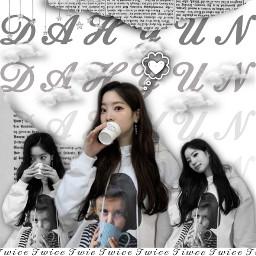 kpop twice dahyun twicedahyun dahyunedit blackandwhite cute new nov7th freetoedit