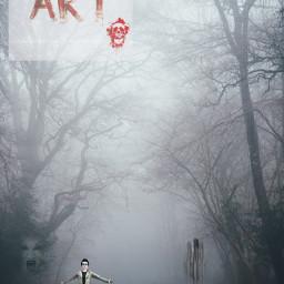 dark mistyroad ghosts freetoedit