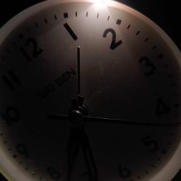clock time dark light unedited freetoedit