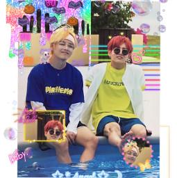 bts jungkook taehyung neon neonaesthetic freetoedit
