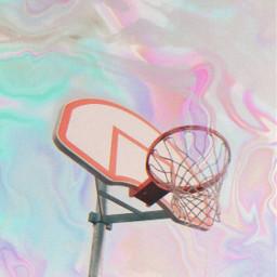 holographic basketball basket freetoedit irchoopdreams