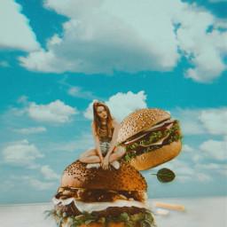 hamburger edit freetoedit unsplash
