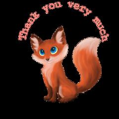thankyou fox freetoedit