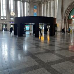 ccc picsart leipzig bahnhof hauptbahnhof schalterhalle eingangshalle eingang halle freetoedit