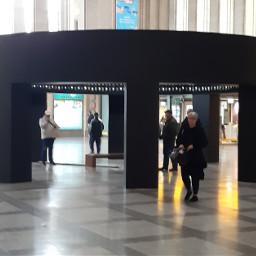 ccc picsart leipzig bahnhof hauptbahnhof schalterhalle eingangshalle eingang halle installation kunstinstallation freetoedit