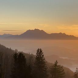 freetoedit nature photography sunset switzerland