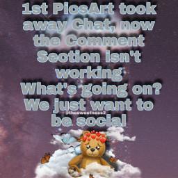 picsart chat remakes remix edits comment comments section notworking social socialdistancing freetoedit