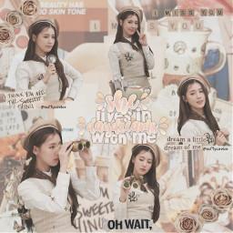miyeon idle beige aesthetic