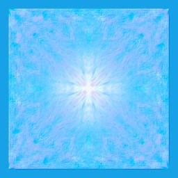 digitalart modernart popart artisticexpression blue kaleidoscope design mydesign myedit freetoedit