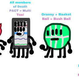 bfb pen liy bottle remote pillow tree blackhole pie basketball grassy firey woody blocky flower bushball multicolorpen fireflowerblock multitool object objectshow objects fusion fusions freetoedit