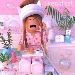 roblox robloxgirl girl gfx piscart pinterestimage pinterest adoptme bloxburg royalehigh meepcity goodmorning breakfast breakfastclub breakfastaesthetic pancake pancakeday crêpes🥞 hot pijama crêpes
