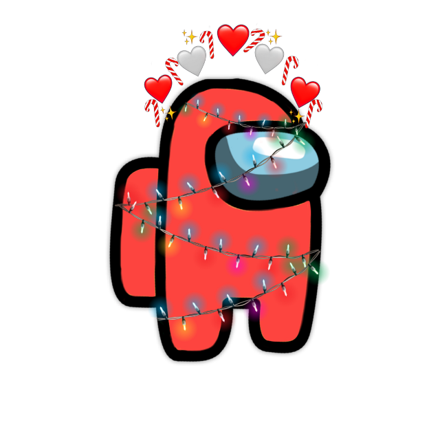 #amoung #us #amoungus #edit #freetoedit #freetouse #christmas #lights #aesthetic #cute