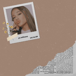 aesthetic beige aestheticvintage arianagrande ariisqueen positions streampositionsbyarianagrande aestheticcute edit byme arianagrandeaesthetic newspaper freetoedit