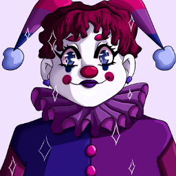 art digitalart bipride clown clowncore