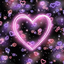 neon heart hearts neonheart neonhearts freetoedit