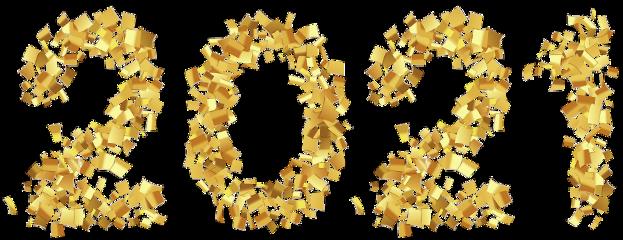 2021 newyear ribbons freetoedit