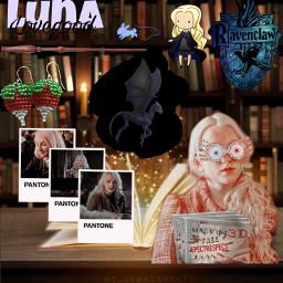 hogwartshouses hogwarts poudlard lunalovegood serdaigle ravenclaw freetoedit