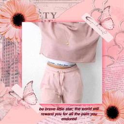 newspaperaesthetic pinkflower pinkflowers pink pinkaesthetic pastelpinkaesthetic pastel pinkquote body clothes pastelpinkflower pastelpinkflowers freetoedit