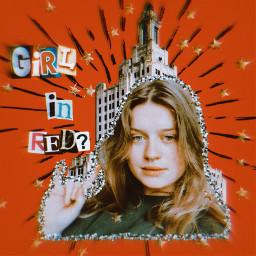 girlinred girlinredlyrics girlinredfan aesthetic newyork stars sticker glitter red redaesthetic redlips girlinredsticker retroaesthetic retro vintage vintageaesthetic vintageeffect freetoedit