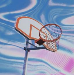aesthetic aestheticart basketballhoop hoop holographic creative sky holographicsky freetoedit