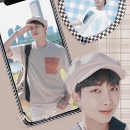 namjoon rm aesthetic cute bts army kimnamjoon brownaesthetic patelbrown
