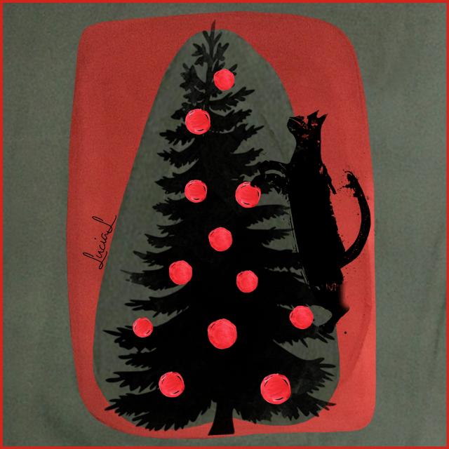 ,      #cat #christmasvibes #christmasiscoming #Christmas