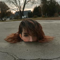 interesting picsart art surreal people photography