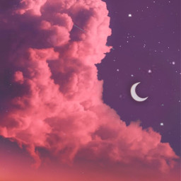 background backgrounds sky clouds night freetoedit