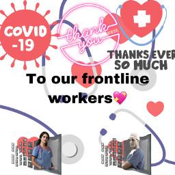 coronavirus fighters letsgetthroughthistogether staysafe freetoedit