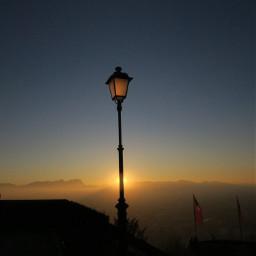 freetoedit sun sunset lamp latern mountain mountains sky beautiful beautifulsky beautifulday sundown view mountainview