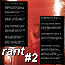 5529 help confession rant vent therapy