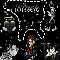 black anime cat deku noheroacademia bokunoheroacademia yuki yukicross yukikuran vampireknight leviackerman freetoedit