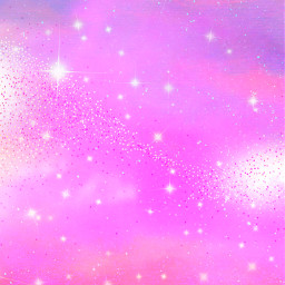 freetoedit glitter sparkle galaxy sky stars bling shimmer universe cosmos space pastel pink cute crystals stardust wallpaper background overlay
