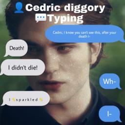 harrypotter restinpeace cedricdiggory deadric message dedward twilightsparkle twilightsaga twillight sparkle