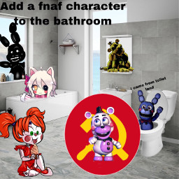 lol fnaf goood bathroom freetoedit
