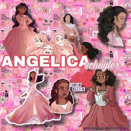 angelicaschuyler angelicaschuylerchurch angelicahamilton hamilton complexedit pink freetoedit