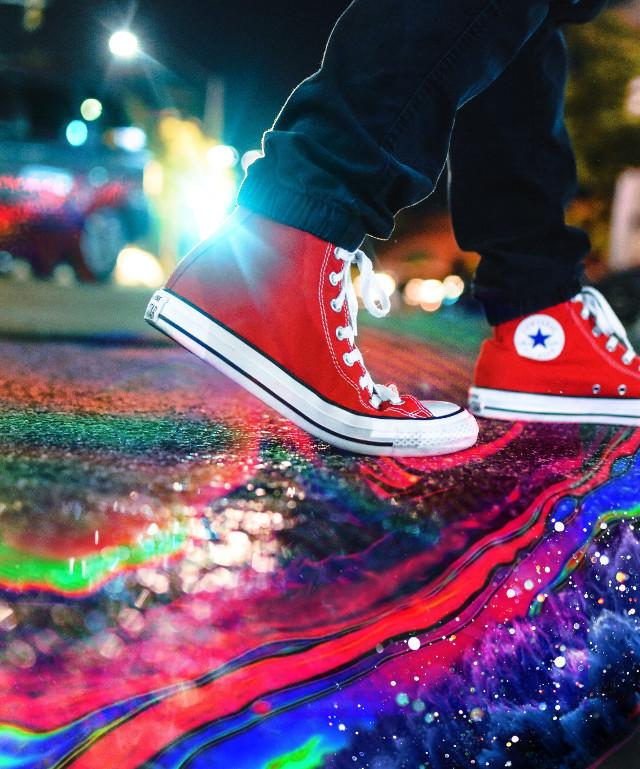 #colorful #colorpop #sneakers #converse