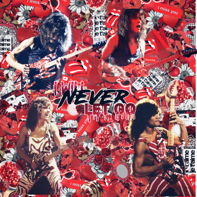 This is for @rosqpqtals contest... I know this is not good but I decided to give complex editing a try  I do not own any of this stuff and yeah... #eddievanhalen #ripeddievanhalen #vanhalen #complexedit #thissucks