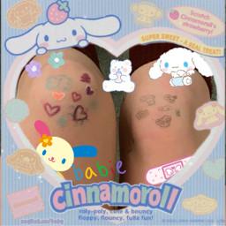 kawaii boop baby babie kidcore sanrio edit cinnamonroll kidcoreedit freetoedit