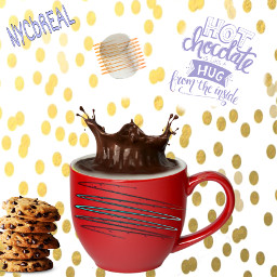 spiralchallenge spiral spirals hotchocolate likeahug hug insidemycup inside mug marshmellow chocolate chocolatechipcookies cookies yum like nycbreal freetoedit enjoy edittheseinyourownstyle