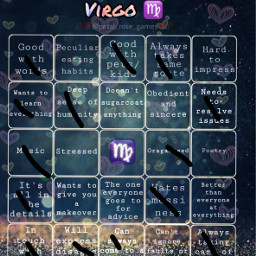 virgo mysign freetoedit