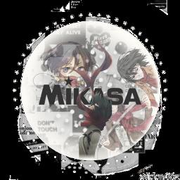 mikasa attackontitan icon freetoedit