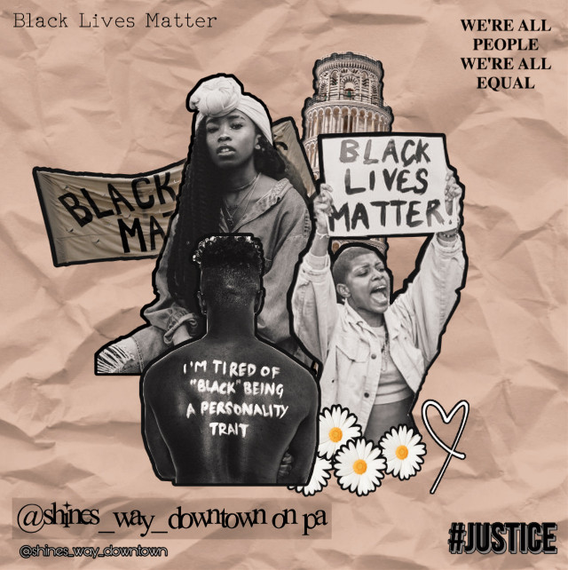 ✊🏼open for edit info✊🏽    ~Time taken: 20 minutes.  ~Inspo: Collage.  ~Date: 22-11-2020.  ~Followers: we are 150! Thanks you so much! 💕 ~Note: i did another edit of black lives matter because i really like it and is important to know that we are all equal ✨💞✊🏽  ~Taglist:  @doggirlinthecity  @_aesthete_  @pixartqueen07  @cxsmicluv-  @hqrgreeves-  @jadez_edits  @her0ber0  @amythtst  @addiegrace5  @adietay  @axthetic_edits  @secret_me_13  @ruelfqn  @sugarcookiesss  @peachy_cc  @vkaul  @savanahhhh34  @bby_singlebxtch  @volente926  ~Comment 🐚 to be added.  ~Comment 🌵 if you change your username.  ~Comment 🥀 to be removed.  #edit #edits #collage #vintage #blm #blacklivesmatter #justice #equal #love #peace #blm✊🏻✊🏼✊🏽✊🏾✊🏿 #people #blm. #blacklivesmatters #blacklivesmattertoo #blacklivesmatter! #blacklivesmatter. #blacklivesmatter✊🏿 #freetoedit