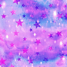 freetoedit glitter sparkle galaxy stars purple pattern clouds sky shimmer art painting stardust cute kawaii pastel wallpaper background overlay